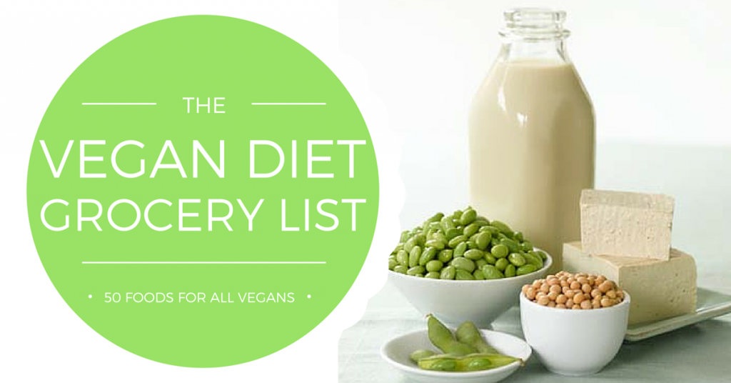 vegan diet grocery list
